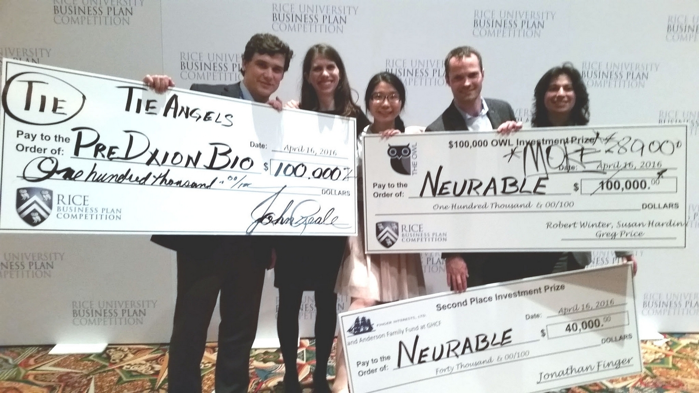 PreDxion & Neurable teams with winning checks